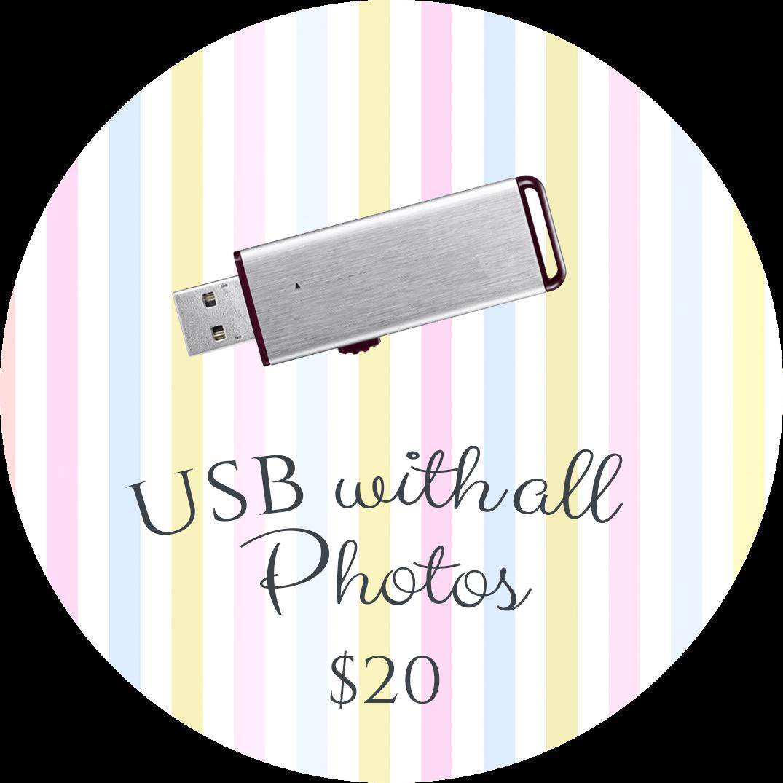 USB with all Photos